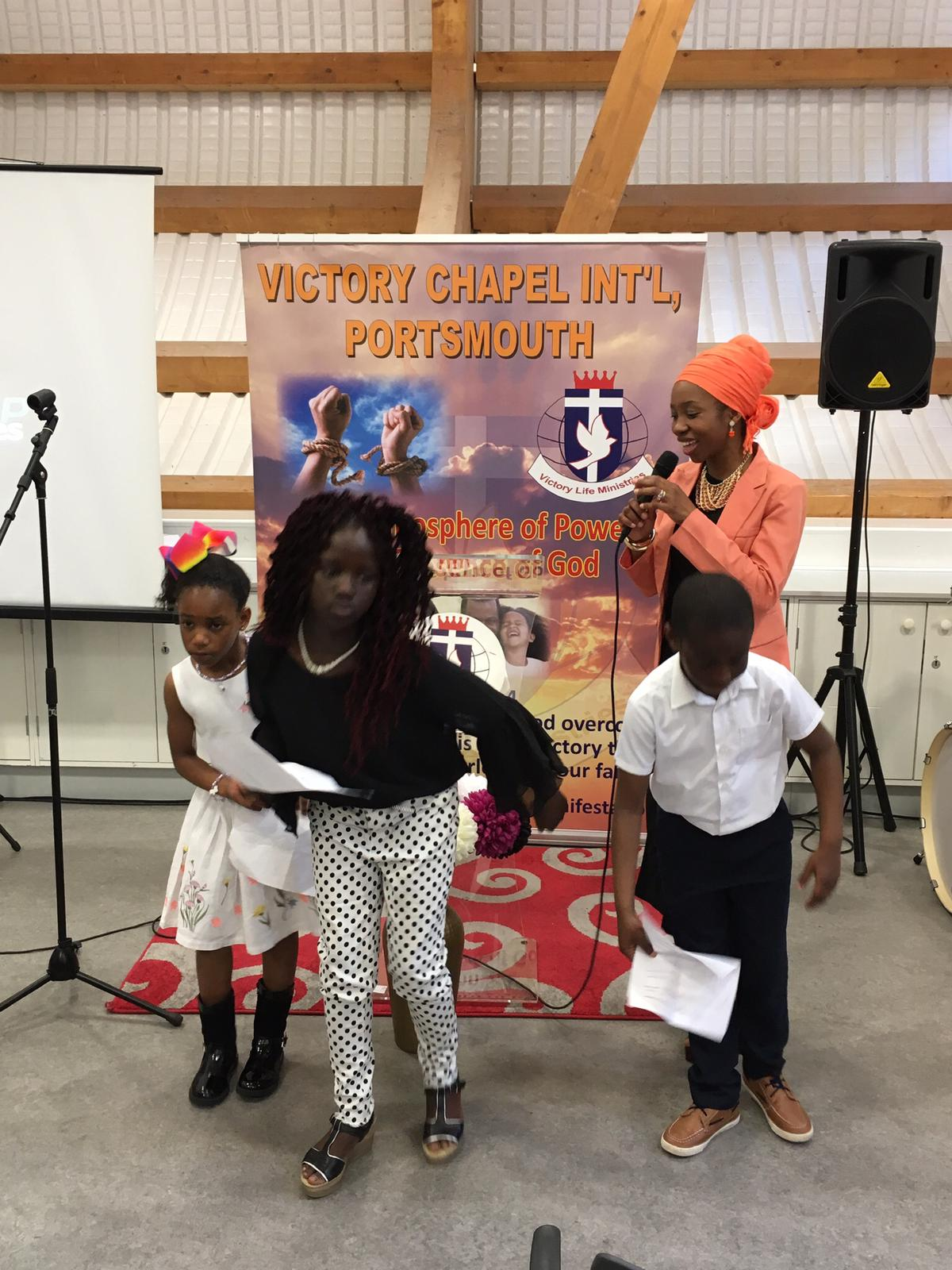 26TH MAY 2019 SPECIAL CHILDREN SERVICE