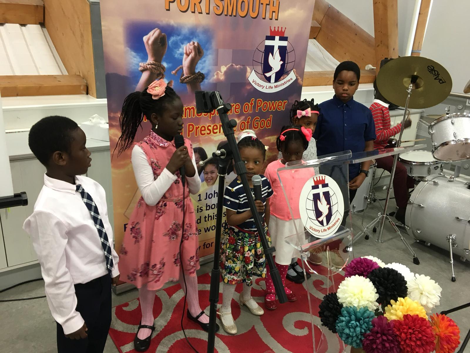 CHURCH SERVICE – CHILDREN DAY