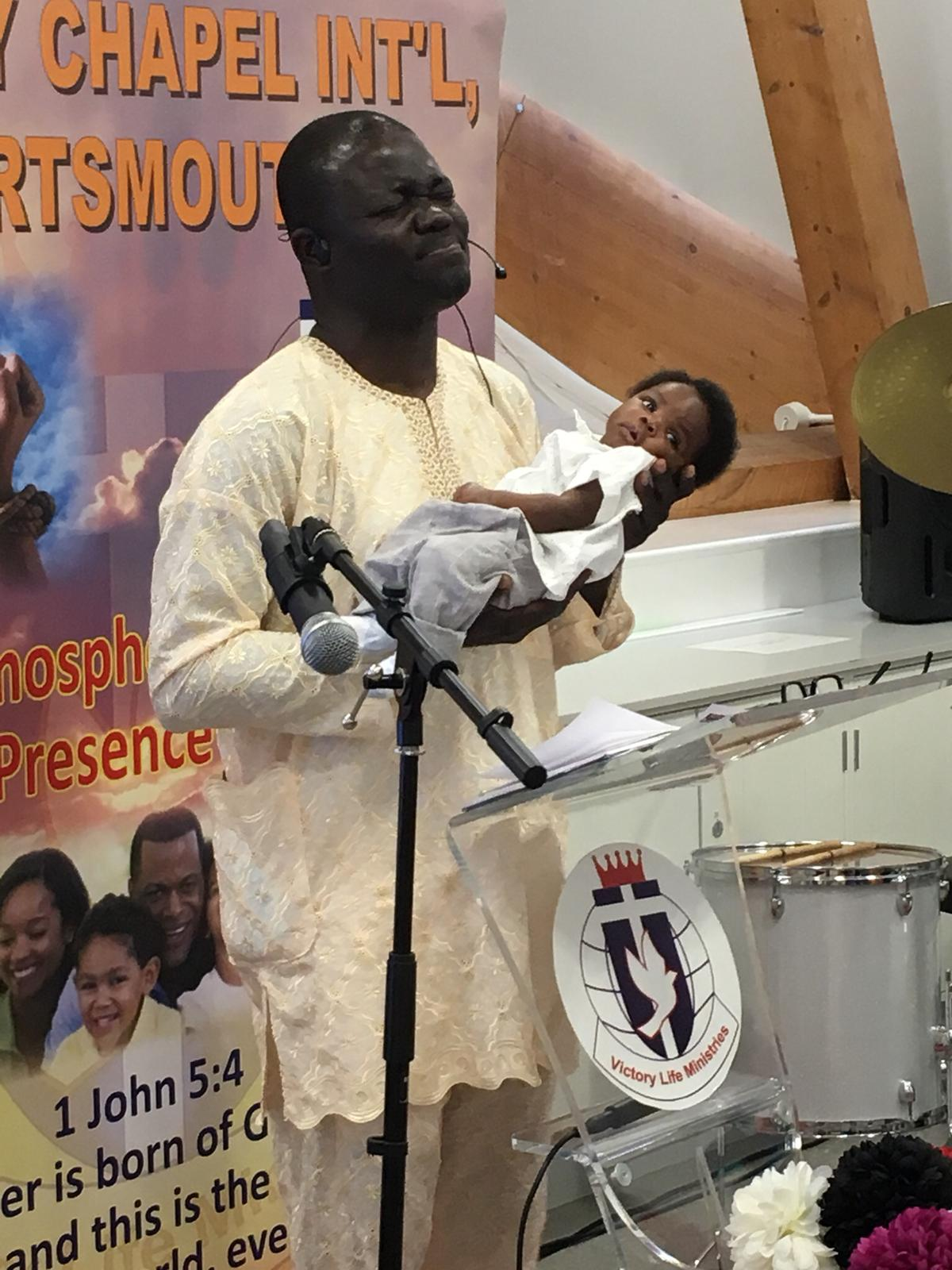 OTHER CHURCH SERVICES, NAMING AND CHILD DEDICATION